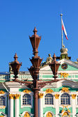 Saint Petersburg. Lamppost on Palace Square — Stock Photo