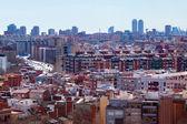 View of Barcelona from Badalona Municipality — Stock Photo