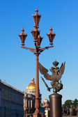View of Saint Petersburg. Details of fence — Stock Photo