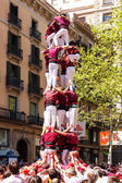 Traditional Catalan show — Stock Photo