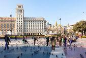 Barcelona, Catalonia Square — Stock Photo