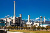 Industry plant at Barcelona — Stock Photo