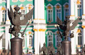 Details of fence at Palace Square — Stock Photo