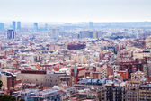 View of Barcelona from high point — Stock Photo