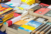 Books on street stalls in Barcelona, Catalonia — Stock Photo