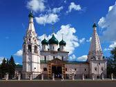 église d'élie le prophète à iaroslavl en été — Photo