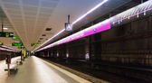 Station Badalona Pompeu Fabra in Metro de Barcelona — Stock Photo