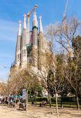 Spain. Sagrada Familia — Stock Photo