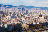 Top view of Barcelona, Spain — Stock Photo