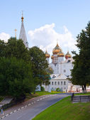 Assumption cathedral at Yaroslavl — Stock Photo