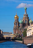 Church of the Savior on Spilled Blood in St. Petersburg — Stock Photo