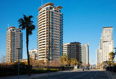 View of Barcelona, Sant Marti district — Stock Photo
