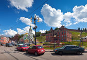 History district of Nizhny Novgorod — Stock Photo