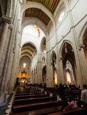 Inre av la almudena-katedralen — Stockfoto