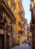 Barri Gotic. Barcelona — Stockfoto