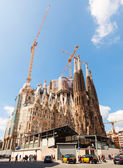 Barcelona, Spain. Famous Church by Gaudi — Stock Photo