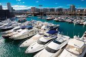 Yachts in Port Forum. Barcelona — Stock Photo