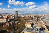 Barcelona in sunny day — Stock Photo
