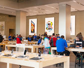 Center of Apple Inc in Barcelona, Spain — Stock Photo