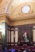 Interior of Ajuntament de Barcelona i — Stock Photo