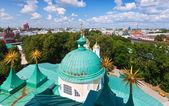 Top view of Yaroslavl — Stock Photo