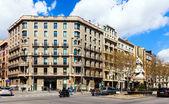 Barcelona, Spain. Gran Via de les Corts Catalanes — Stock Photo