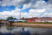 Bekijk van ivanovo langs de rivier uvod — Stockfoto