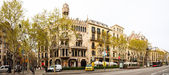 Casa Lleo Morera at Passeig de Gracia. Barcelona — Stock Photo