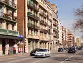 View of Barcelona, Avinguda Diagona — Stock Photo