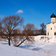 Church of Intercession on River Nerl — Stock Photo #25920093