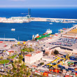 Stock Photo: Port de Barcelona