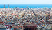 Old residence district in Barcelona — Stock Photo