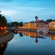 Historical district of Ivanovo in evening — Stok Fotoğraf #27490933