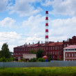 Old building textile factories in Ivanovo — Foto Stock