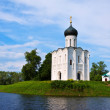 Church of Intercession on River Nerl — Stock Photo #27491167