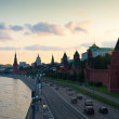 Moscow in summer sunset. Russia — Stock Photo #27491551