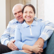 mature couple  in home — Foto Stock
