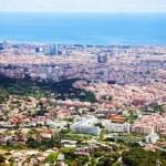 ������, ������: Top general view of Barcelona