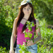 Stock Photo: Gardening woman