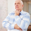 Wistful grizzled man — Stock Photo #27492921