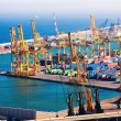 Stock Photo: Industrial Port de Barcelona
