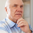 Stock Photo: Wistful senior man