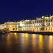 Winter Palace in Saint Petersburg — Stock Photo