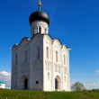 Church of the Intercession on the River Nerl   — Stock Photo
