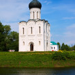 Church of the Intercession on the River Nerl — Stock Photo #27493417