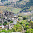 Stock Photo: City at Pyrenees mountains. AndorrlVella