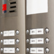 Close-up of building intercom — Stock Photo #27494243