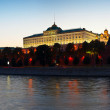 Moscow Kremlin in summer sunset  — Stock Photo
