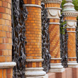 Railing of  Mikhaylovsky Garden — Stock Photo
