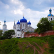 Orthodoxy monastery at Bogolyubovo — Stock Photo #27494363